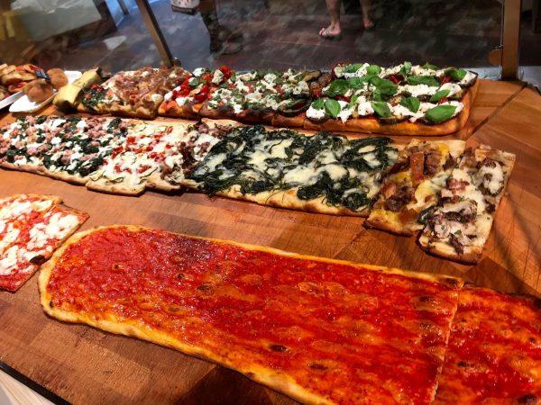 pizza alla pala in rome